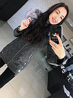 """Женское стильное утепленное пальто """"Грейс"""" (расцветки), фото 1"""