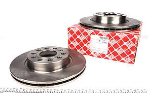 Тормозной диск Фольксаген кадди /Caddy/ Гольф 5 2004-  передний вентилируемый [280x22] Германия Febi  22904, фото 2