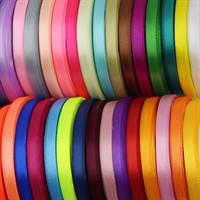Ленты атласные шириной 6 мм (0,6 см)