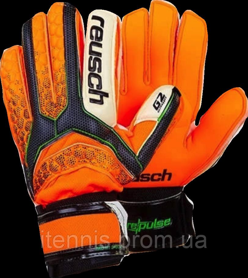 Перчатки вратарские с защитными вставками Reusch p.(8,9,10)