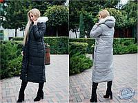 Куртка зимняя женская длинная №592