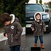 Парка теплая детская с капюшоном 3,4,5,6 лет, фото 3