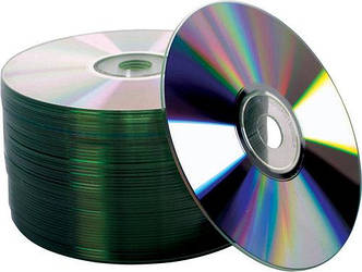 Диск CMC Magnetics DVD-R 4,7 GB 16x, Full-face inkjet printable silver, Bulk/50
