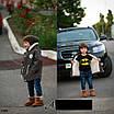 Парка теплая детская с капюшоном 3,4,5,6 лет, фото 4