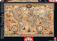 """Пазл """"Карта античного мира"""" 1000 элементов Educa (EDU-15159)"""