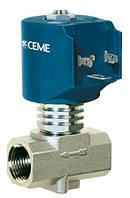 Электромагнитный клапан Ceme 9016 1` PTFE180C 230V 50Hz НЗ