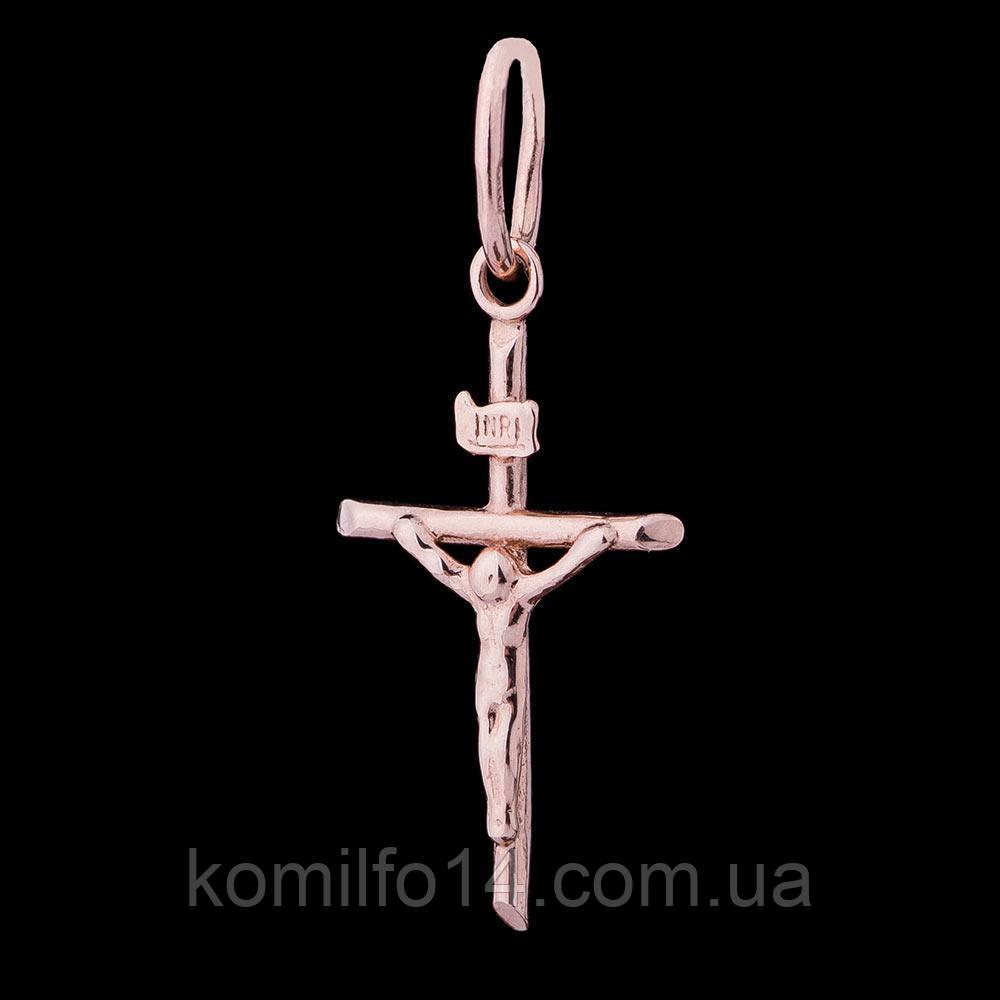 Золотой крестик (распятие)
