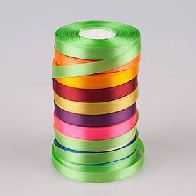 Лента атласная оптом 6 мм * 33 м (разные цвета), декор, шитье, рукоделие