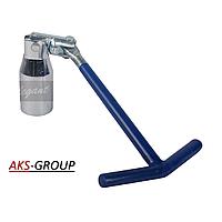 Ключ свечной 16мм  ST-07-1B  Elegant EL 102 807