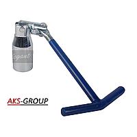 Ключ свечной 21мм  ST-07-1B  Elegant EL 102 808