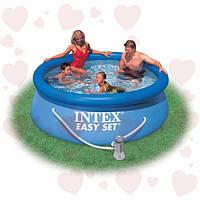 Семейный бассейнНаливной бассейн Intex 28112 Easy Set 244x76 см с фильтр-насосом