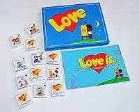 Подарочный набор LOVE IS на День святого Валентина.