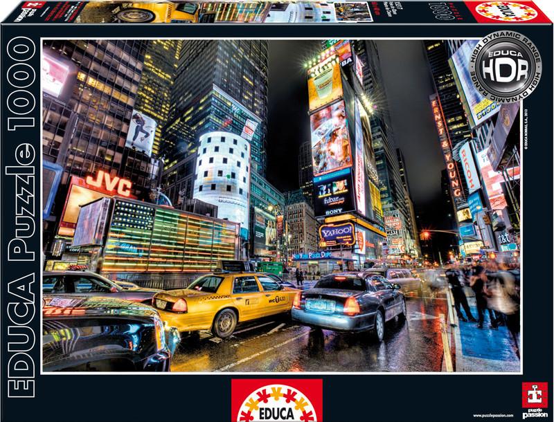 """Пазл """"Таймс-сквер, Нью-Йорк"""" 1000 элементов Educa (EDU-15525)"""