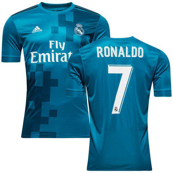 Футбольная форма Реал Мадрид Роналдо (Real Madrid Ronaldo) 2017-2018  Гостевая 40583d0f544