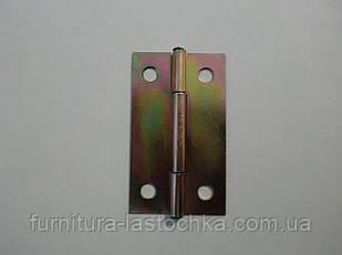 Петля форточная 50 мм, узкая