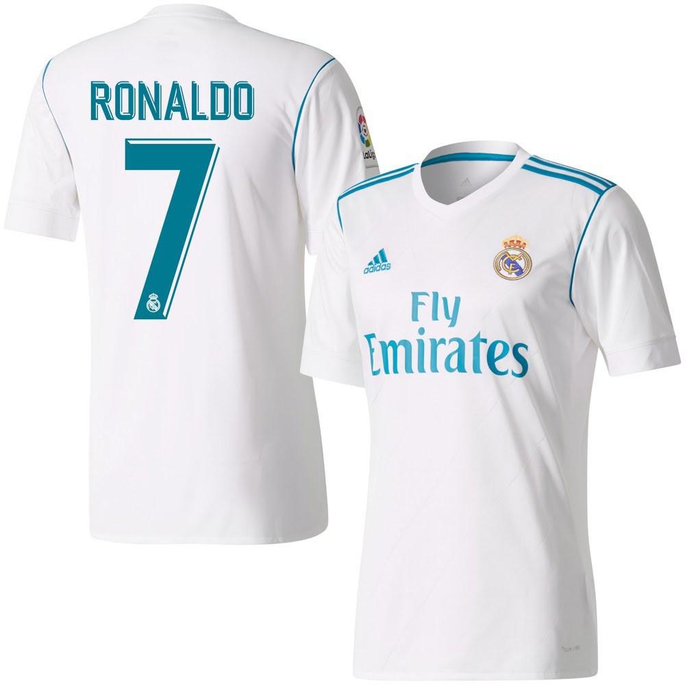 3b00bff0c0f7 Футбольная форма Реал Мадрид Роналдо (Real Madrid Ronaldo) 2017-2018  Домашняя