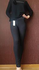 Трикотажные лосины женские №4  (норма), фото 2