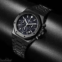 Часы Audemars Piguet Royal Oak Black хронограф мужские, копия AP