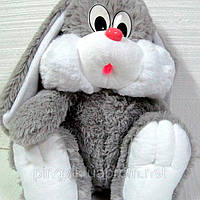 Мягкая плюшевая игрушка заяц 55 см