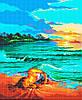 Схема для вишивки та вишивання бісером Бисерок «У морських обіймах» (A1) 60x80 (ЧВ-8005(10))