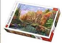 Пазл Коттедж на берегу озера, 1500 элементов, TFL-26136, Trefl