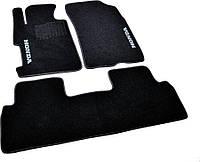 Коврики в салон ворс Honda Civic (2006-2011) SD 4D /Чёрные, кт. 3шт