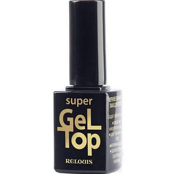 Верхнее покрытие лака для ногтей Relouis Super Gel Top