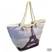 Женская пляжная сумка из текстиля Podium PC 9140-1 grey