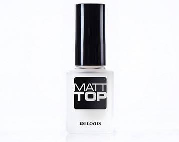 Relouis Матовое верхнее покрытие для ногтей Matt Top
