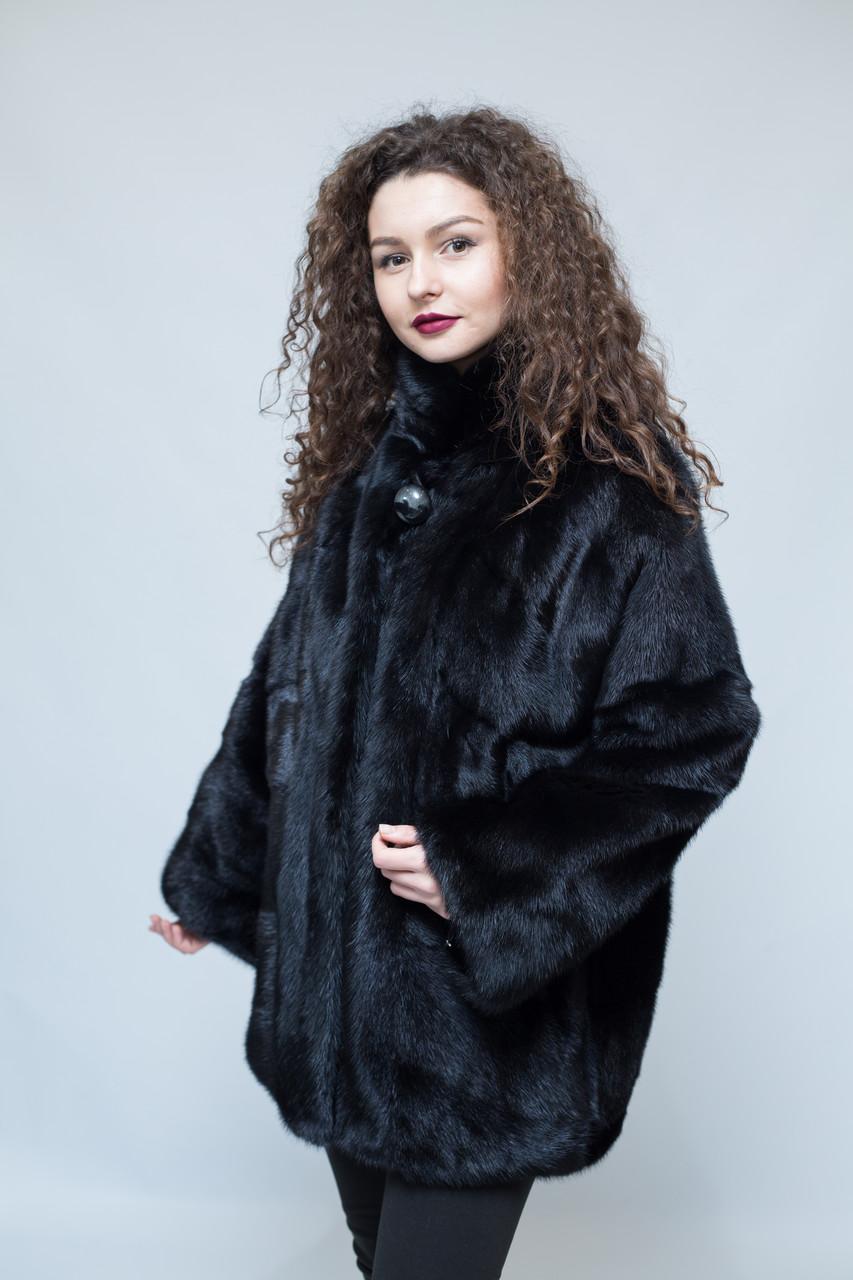 Шуба норковая  Oscar Fur  471/1  Черный