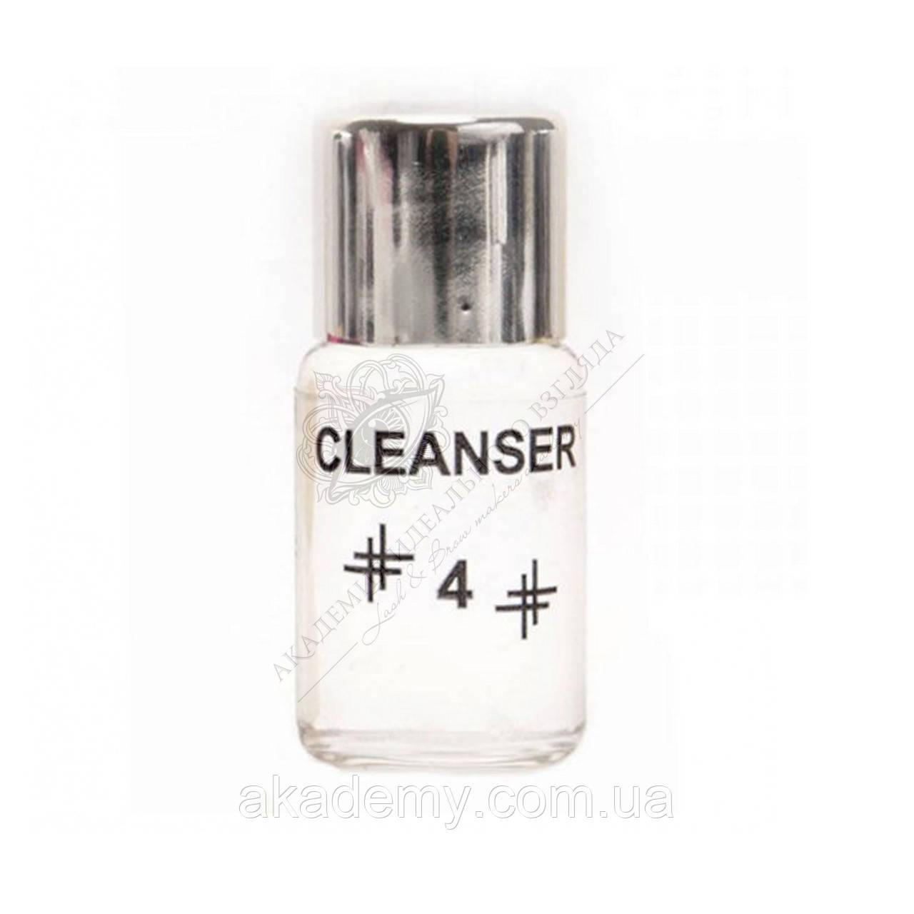 Состав для биозавивки (очиститель) №4