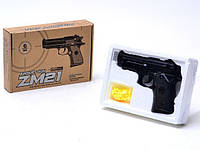 Пистолет Металл Zm21 С Пульками Ps