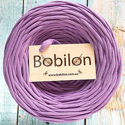 Трикотажная пряжа Bobilon Micro 3-5 мм, цвет Сиреневый