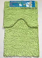 Набор ковриков в ванную комнату Лапша (Зелёный чай)