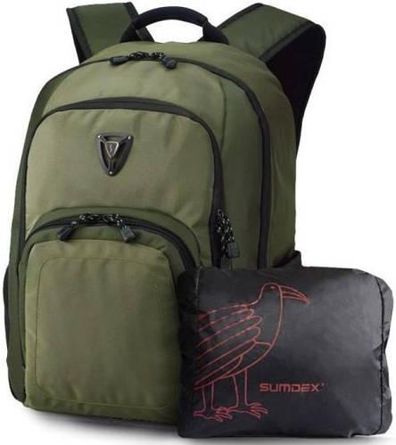 """Превосходный рюкзак с отделом для ноутбука 15,6"""" Sumdex PON-394TY  + чехол"""