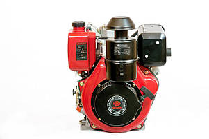 Двигатель дизельный WEIMA WM188FB (12 л.с., вал 25мм, шпонка, съемный цилиндр), фото 2