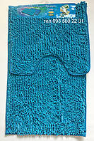 Набор ковриков в ванную комнату Лапша (Морская волна)