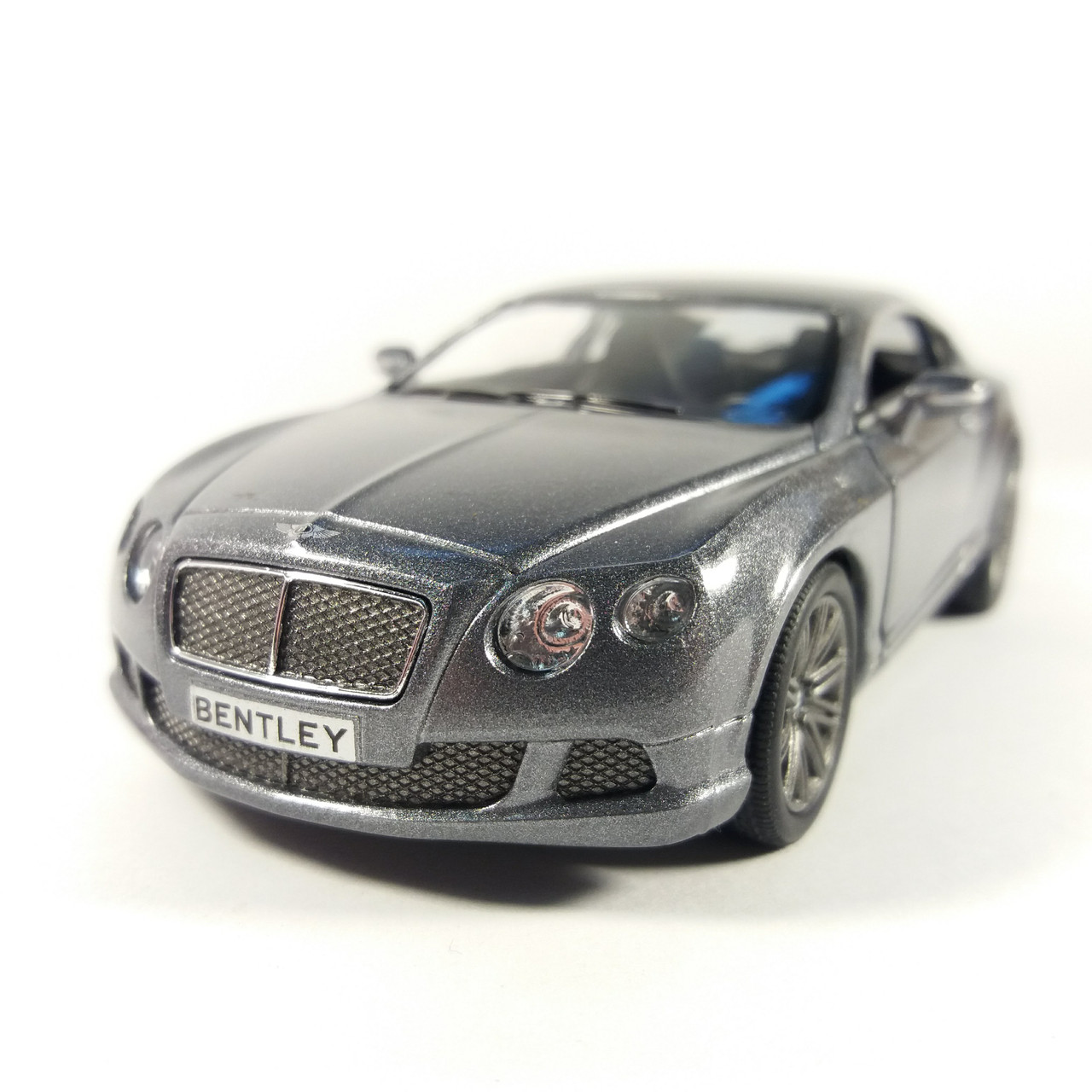 Автомобиль металлический KINSMART Bentley Continental GT Speed Графіт KT5369W