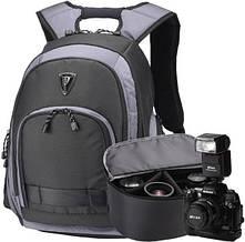 """Рюкзак для ноутбука 15,6"""" с сумкой для фотокамеры Sumdex PON-395GY + чехол"""