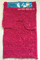 Набор ковриков в ванную комнату Лапша (Ярко-Розовый)