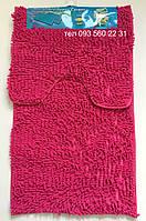 Набор ковриков в ванную комнату Лапша (Ярко-Розовый), фото 1