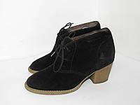 Tamaris_Германия, замша, стильные ботинки 36р ст.23см H92