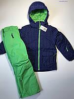 Детский зимний лыжный костюм Bloem на девочку 7-8 лет рост 128