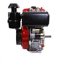 Двигатель дизельный WEIMA WM188FBЕ (12 л.с., электростартер, вал 25мм, шпонка, съемный цилиндр), фото 2