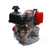 Двигатель дизельный WEIMA WM188FBЕ (12 л.с., электростартер, вал 25мм, шпонка, съемный цилиндр), фото 3