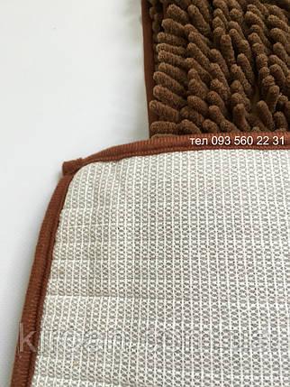 Набор ковриков в ванную комнату Лапша (Горький шоколад), фото 2