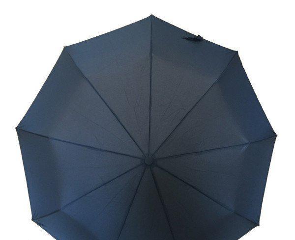 """Зонт автомат мужской на 10 спиц """"WE-DA""""WD-3319(B) с системой антиветер / Зонт антиветер"""