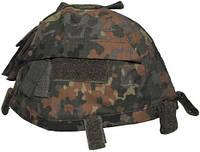 Чехол на каску с карманами регулируемый, флектарн MFH 10501V