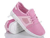 Подростковые кроссовки  для девочек оптом. 1709-3 (8 пар,36-41)