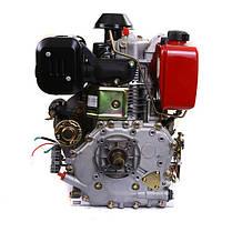 Двигатель дизельный WEIMA WM192FЕ (14 л.с., электростартер, вал 25мм, шпонка), фото 3